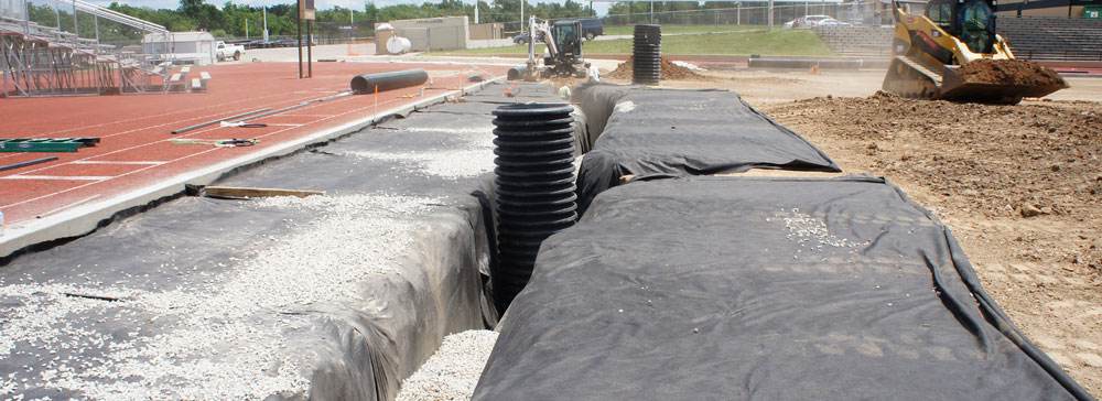 Athletic Field Drainage Systems