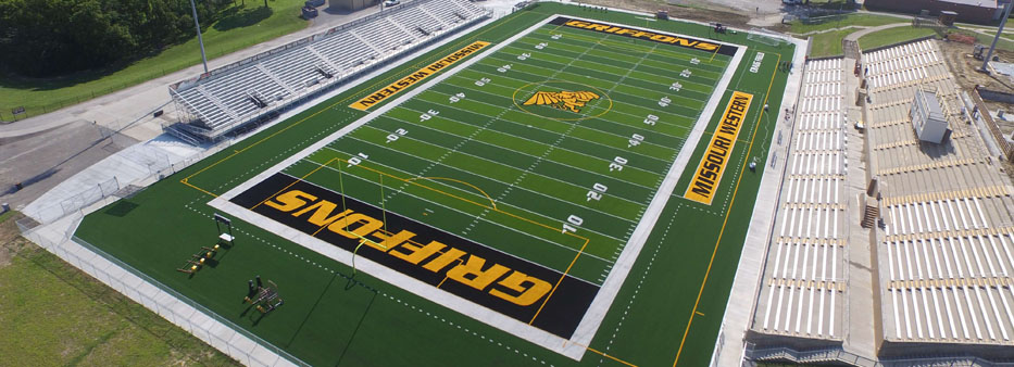 College Sports Field Turf