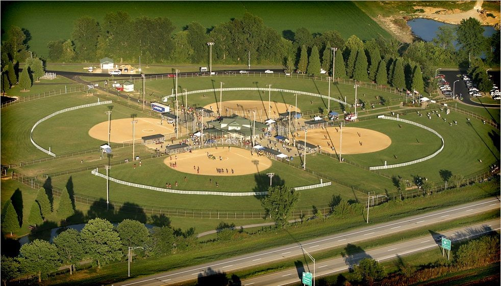 Four Baseball Diamonds Look Amazing After Getting a Sports Field Construction